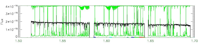 APOGEE infrared spectrum of 2M12214075+1437548